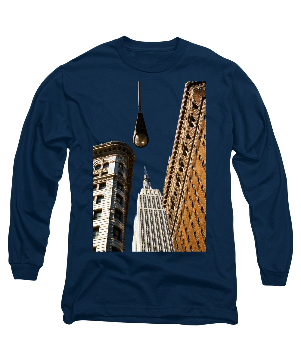 New York City Skyline Long Sleeve T-Shirts