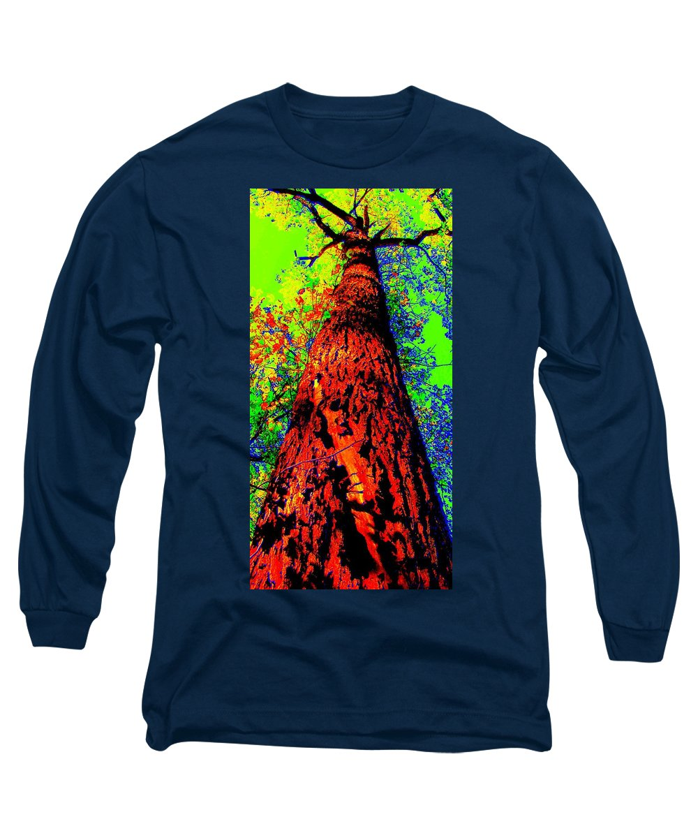 Hello Mother Long Sleeve T-Shirt featuring the photograph Hello Mother by Ed Smith