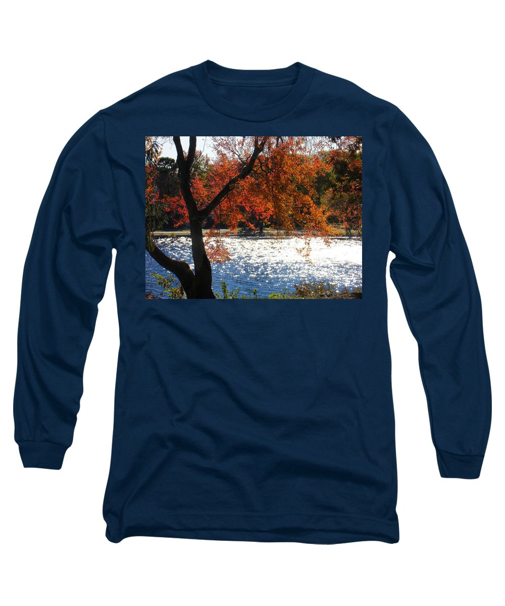 Landscape Long Sleeve T-Shirt featuring the photograph Lakewood by Steve Karol