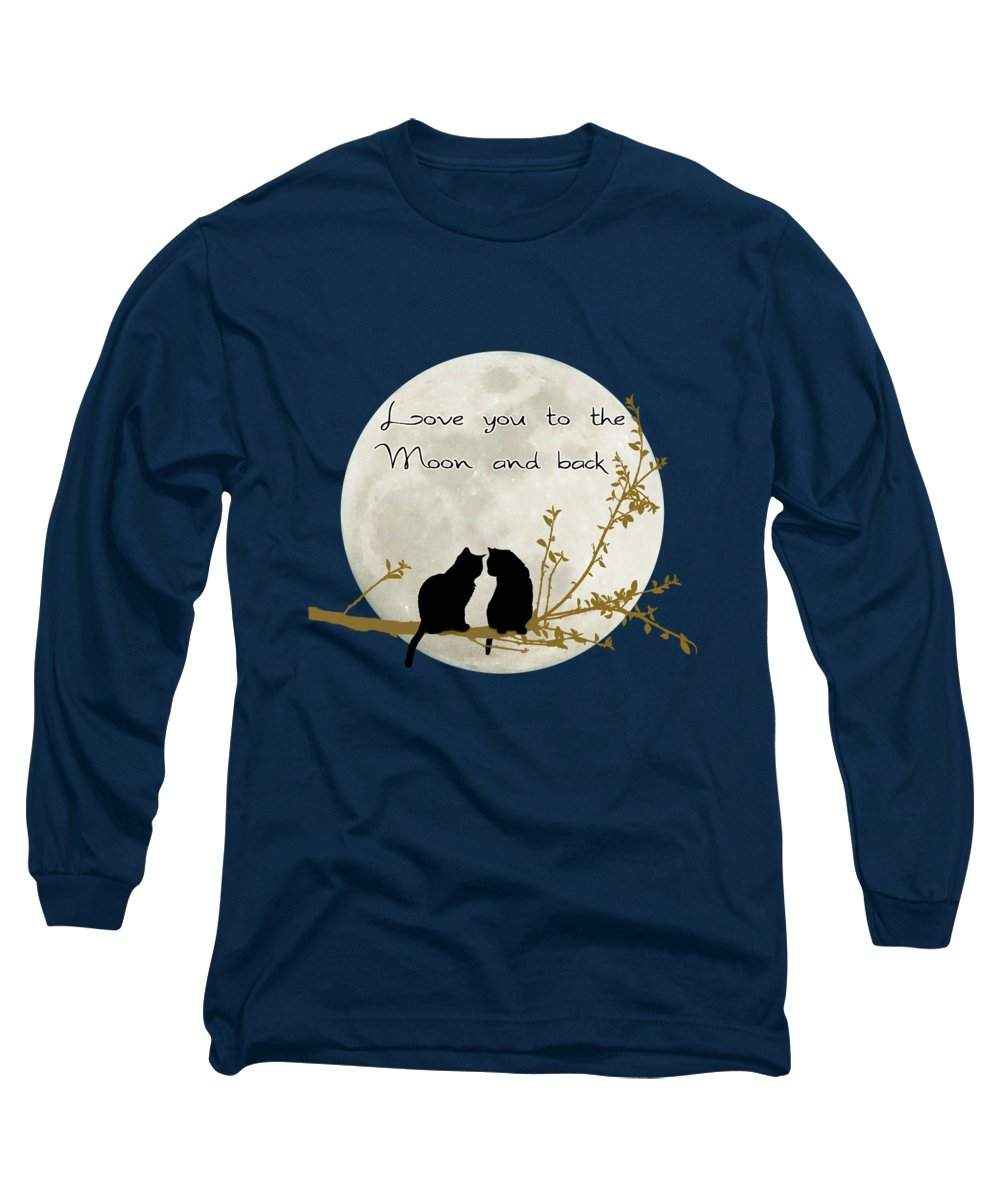 Full Moon Long Sleeve T-Shirts