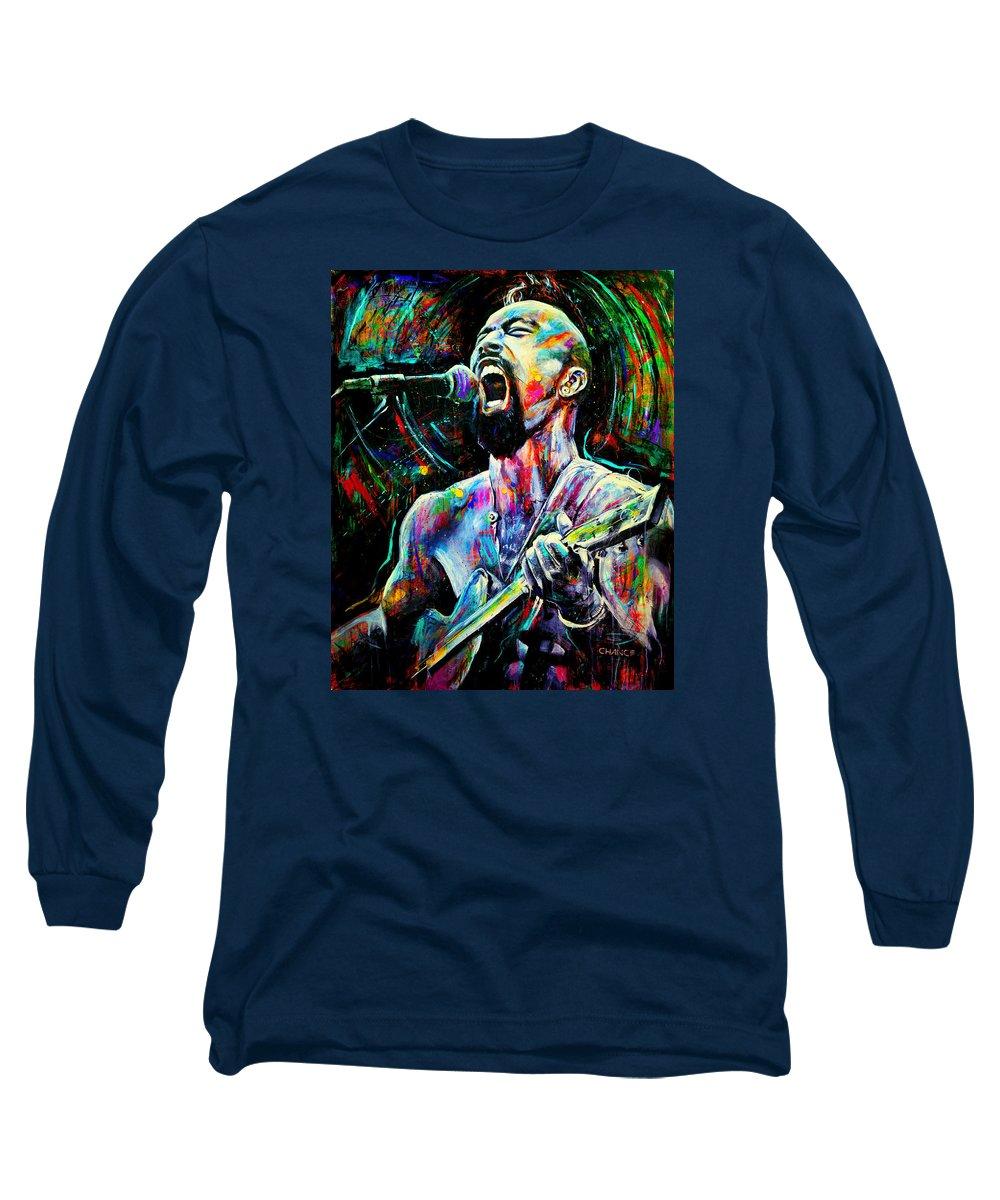 Nahko Bear Paintings Long Sleeve T-Shirts
