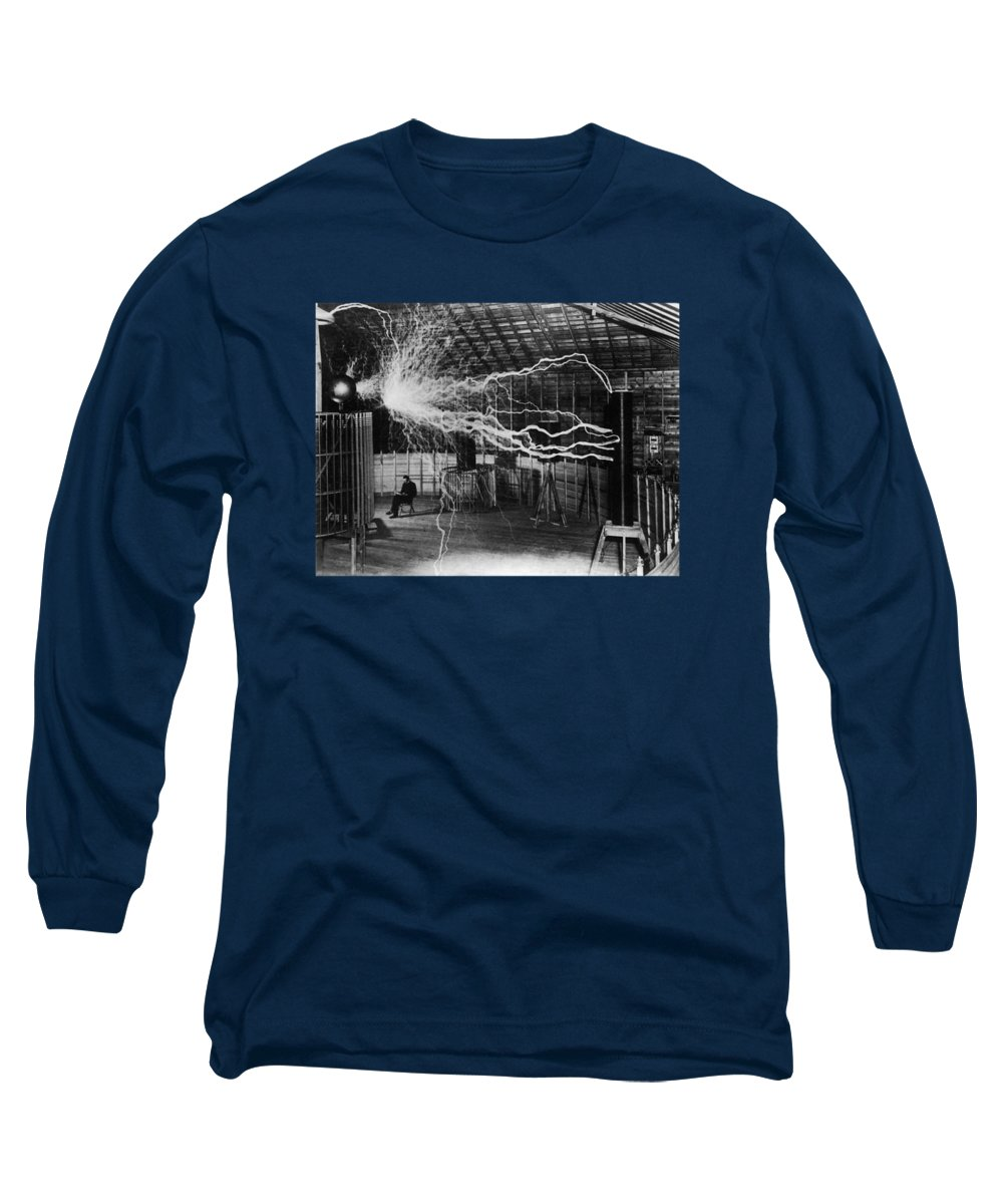 Inventor Photographs Long Sleeve T-Shirts