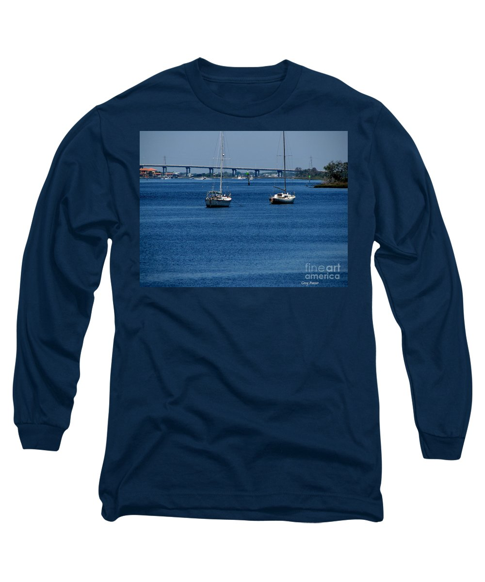 Patzer Long Sleeve T-Shirt featuring the photograph No Yard Work by Greg Patzer