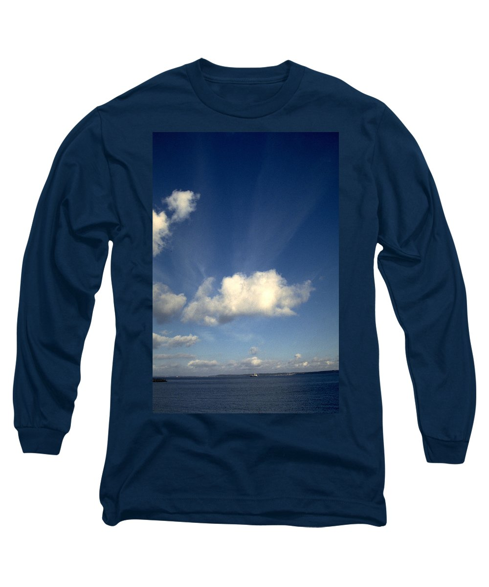 Northern Sky Long Sleeve T-Shirt featuring the photograph Northern Sky by Flavia Westerwelle