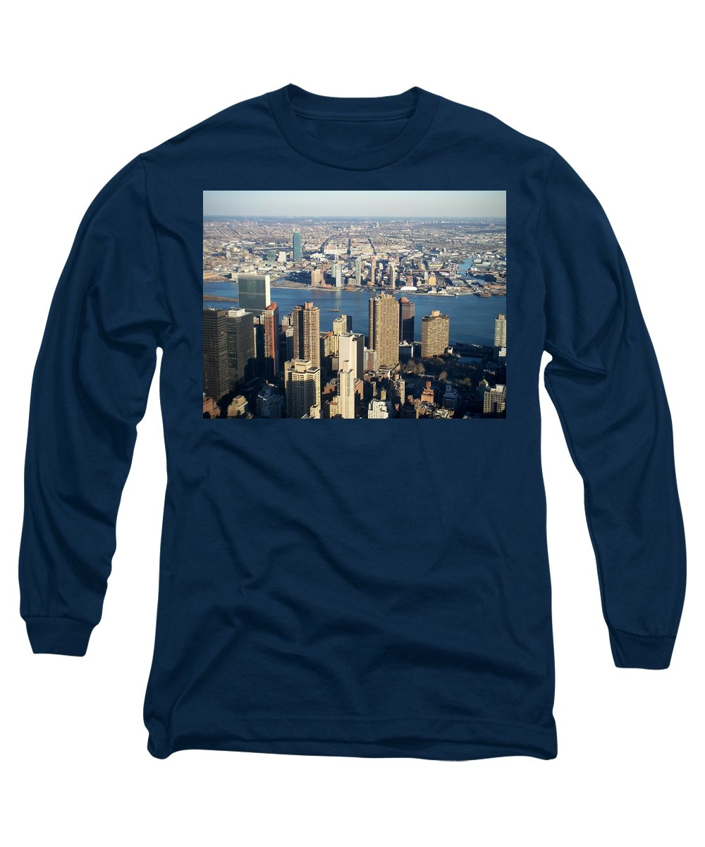 Nyc Long Sleeve T-Shirt featuring the photograph Nyc 6 by Anita Burgermeister