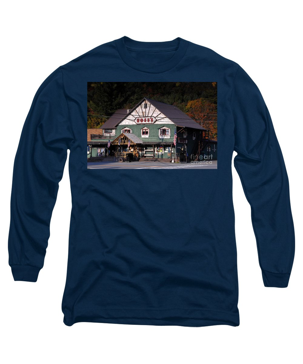 Old Store Long Sleeve T-Shirt featuring the photograph Old Hoss's by David Lee Thompson