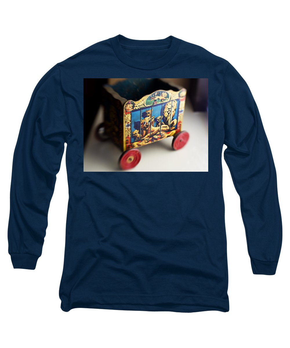 Americana Long Sleeve T-Shirt featuring the photograph Old Toy by Marilyn Hunt