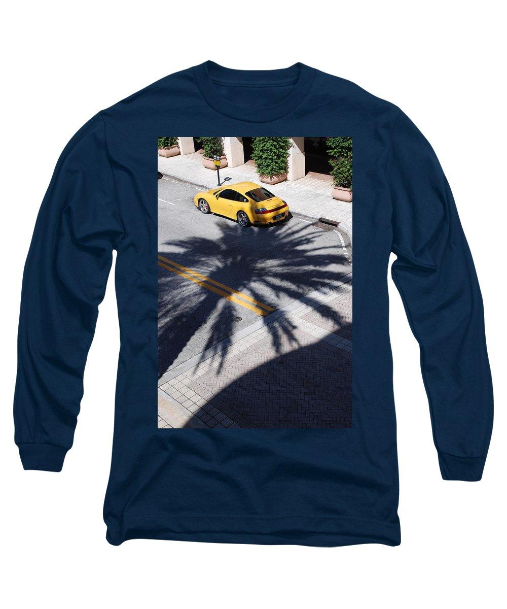 Porsche Long Sleeve T-Shirt featuring the photograph Palm Porsche by Rob Hans