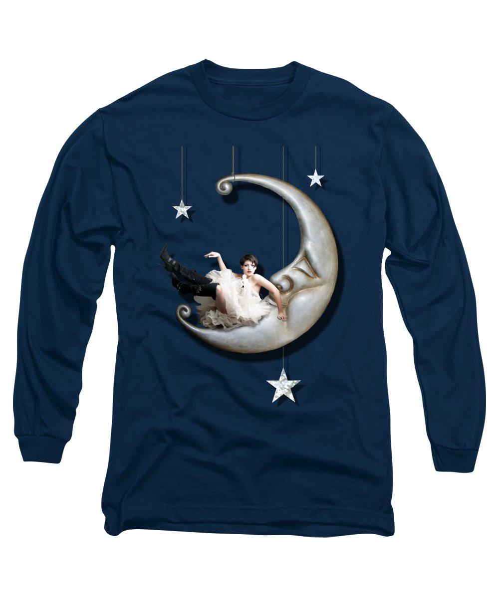 Moon Long Sleeve T-Shirts