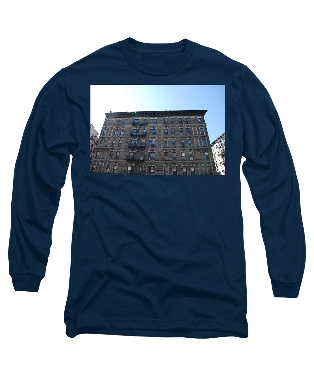 Architecture Long Sleeve T-Shirt featuring the photograph Physical Graffitti by Rob Hans