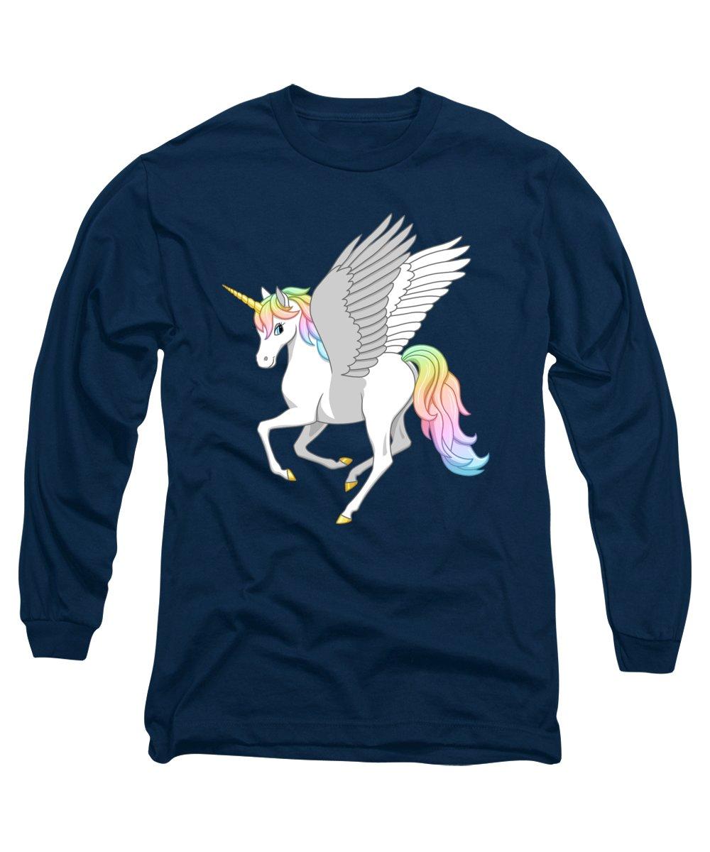Pegasus Long Sleeve T-Shirts
