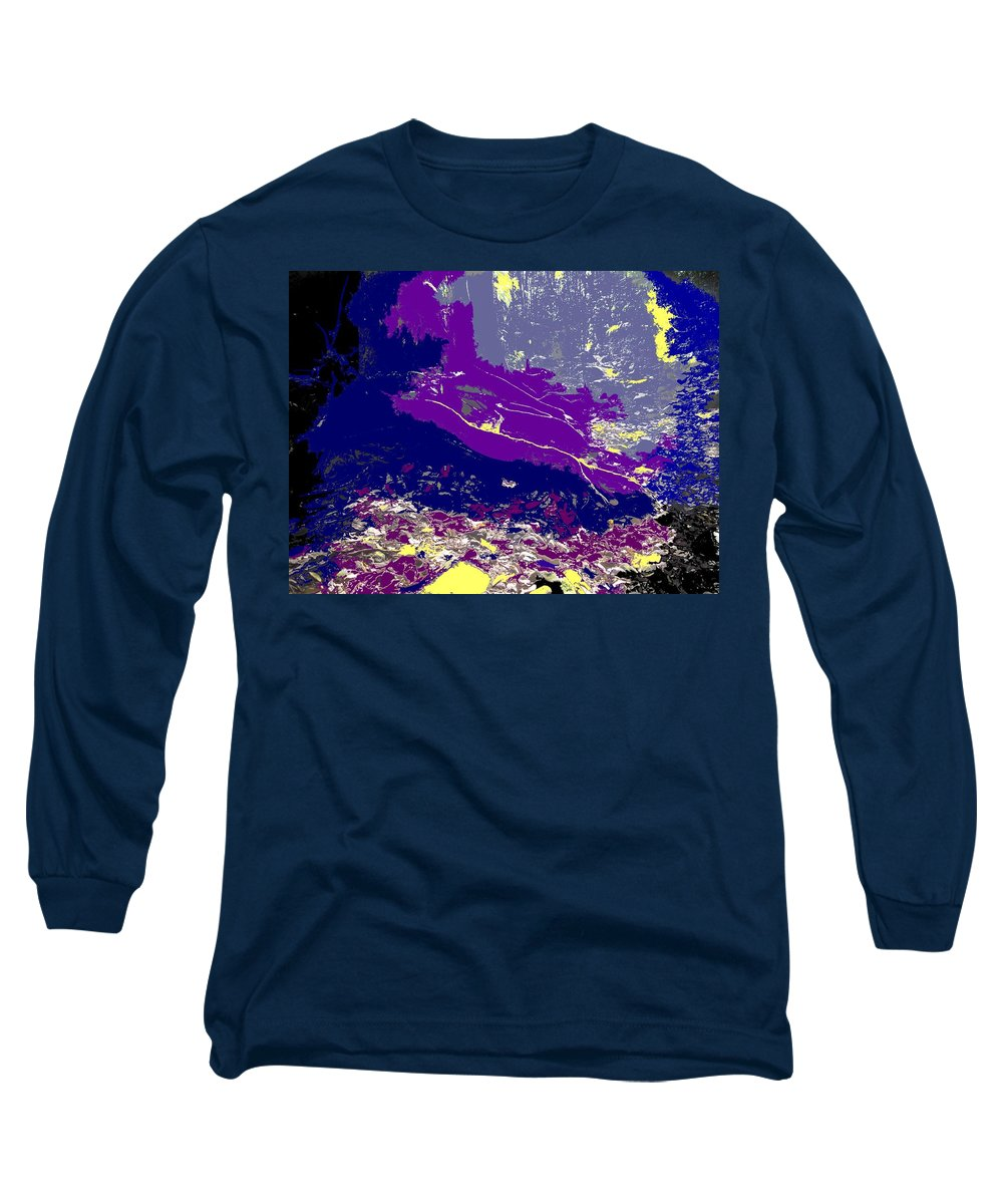 Rainforest Long Sleeve T-Shirt featuring the photograph Rainforest Shadows by Ian MacDonald