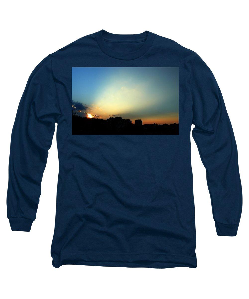 Nature Long Sleeve T-Shirt featuring the photograph Spotlight by Daniel Csoka