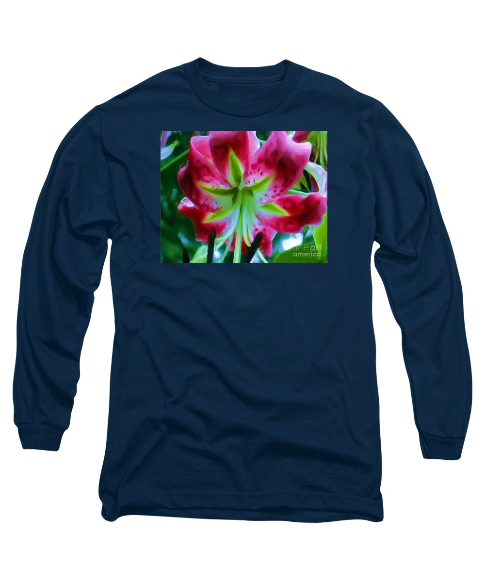 Fine Art Photography Long Sleeve T-Shirt featuring the photograph Stargazer by Patricia Griffin Brett