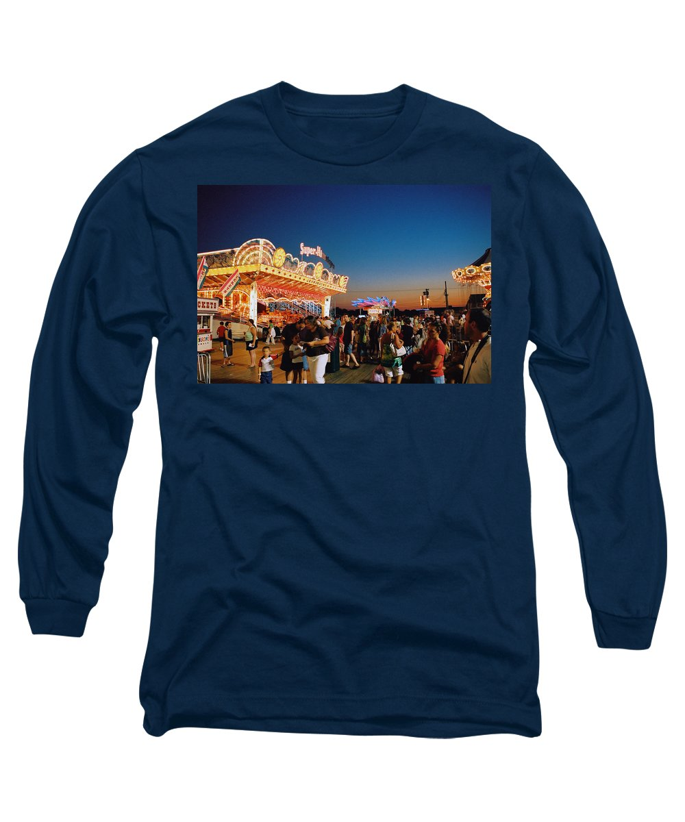 Board Walk Long Sleeve T-Shirt featuring the photograph Super Himalaya by Steve Karol
