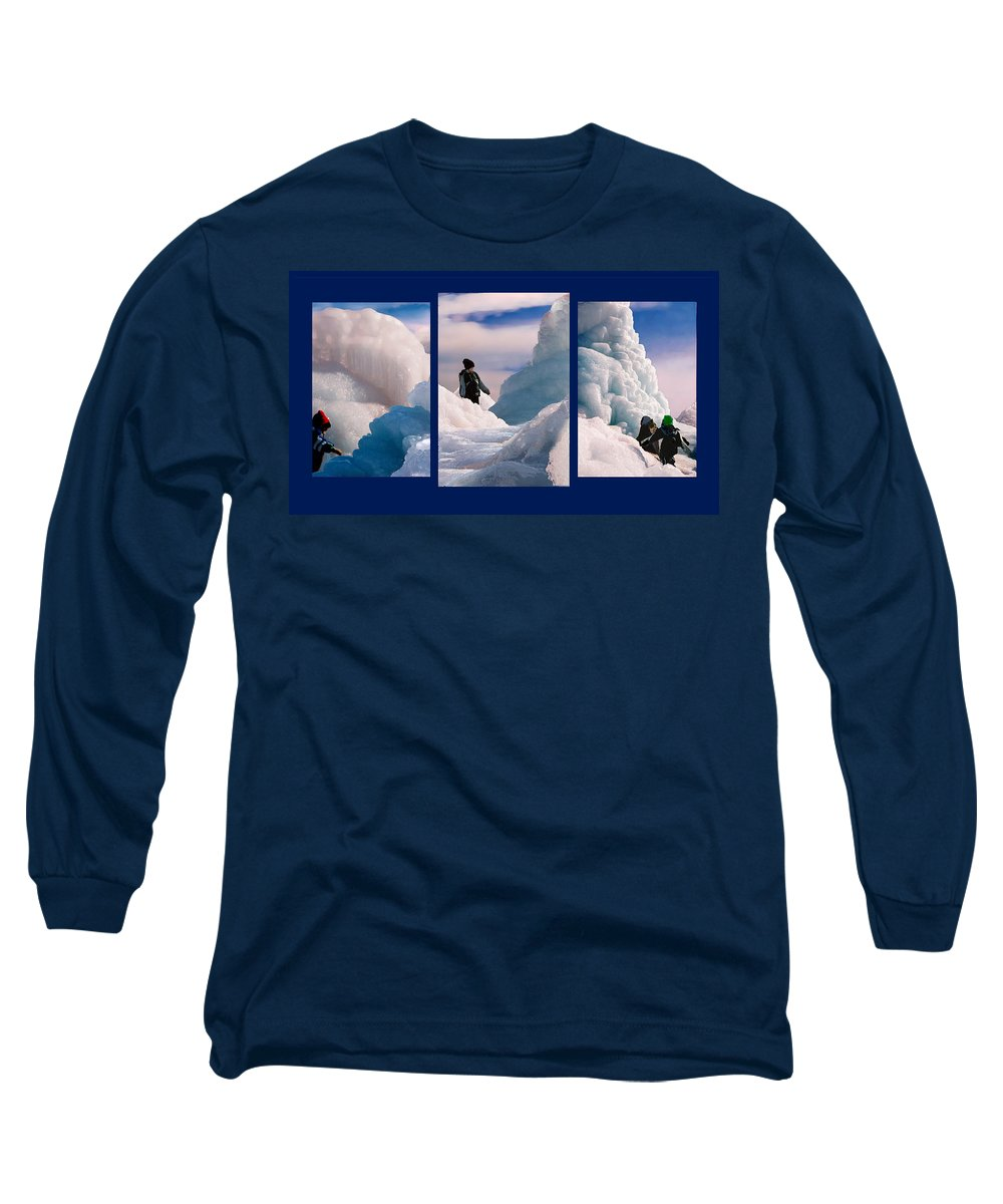 Landscape Long Sleeve T-Shirt featuring the photograph The Explorers by Steve Karol
