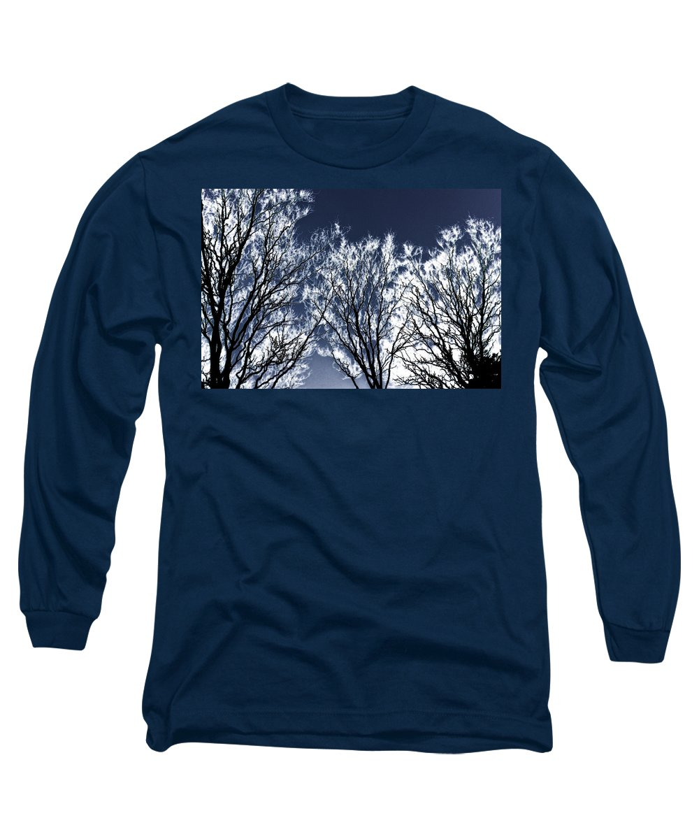 Scenic Long Sleeve T-Shirt featuring the photograph Tree Fantasy 2 by Lee Santa