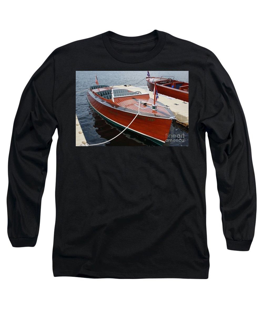 Motorboat Photographs Long Sleeve T-Shirts
