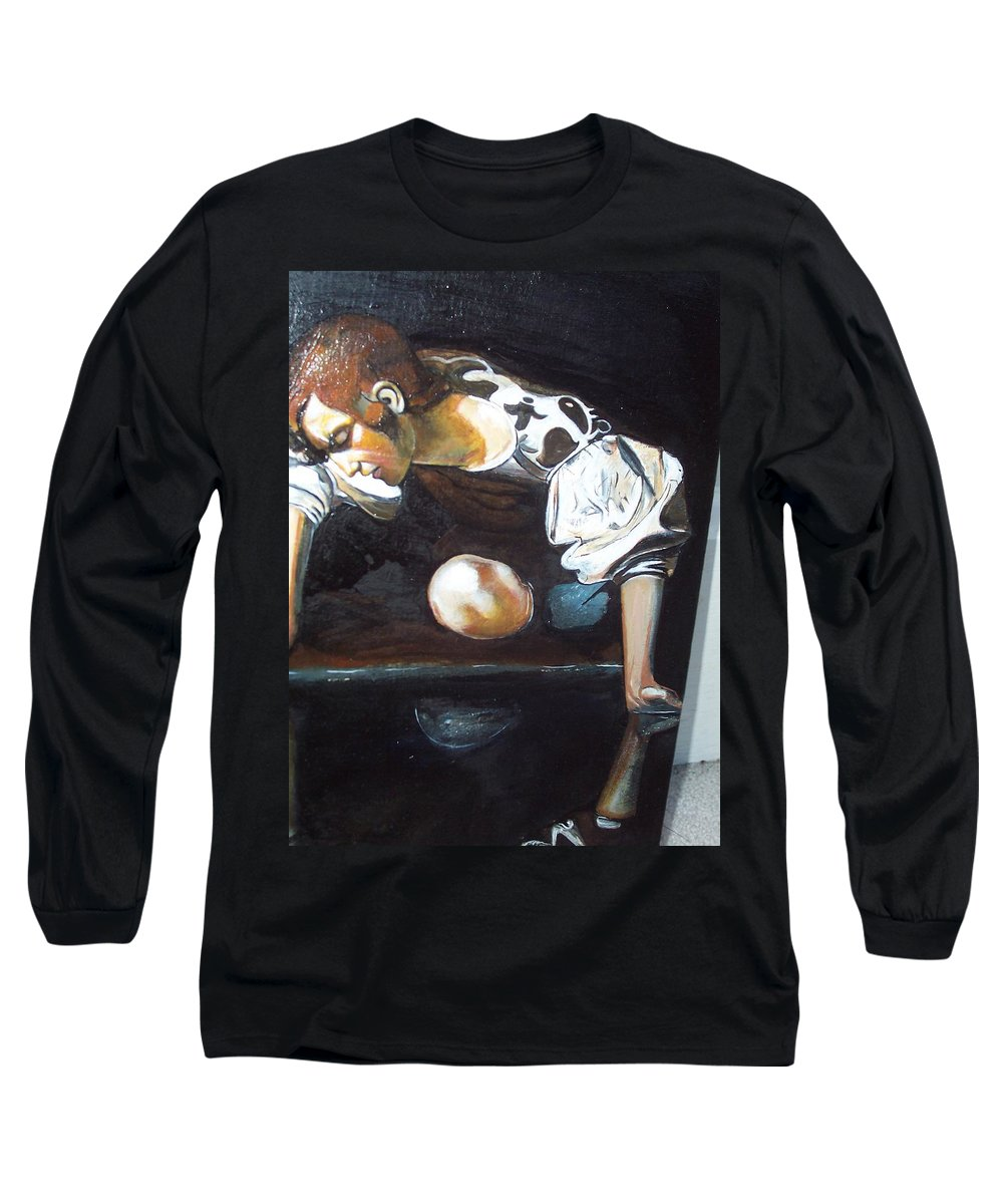 Long Sleeve T-Shirt featuring the painting Detail by Jude Darrien