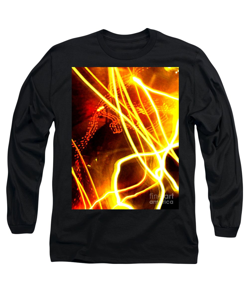 Abstract Long Sleeve T-Shirt featuring the photograph Abstract by Amanda Barcon