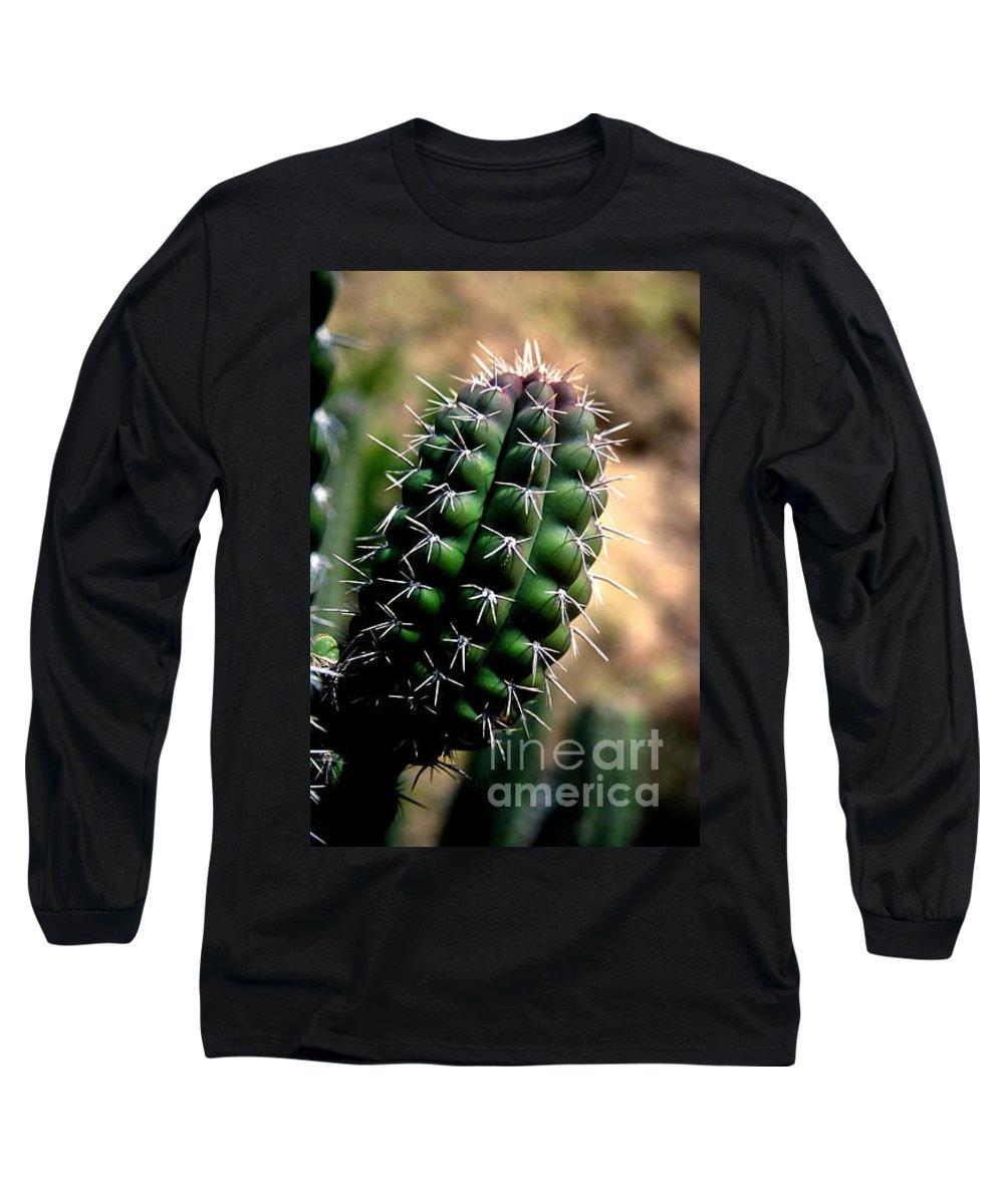 Sahuaro Long Sleeve T-Shirt featuring the photograph Cactus Arm by Kathy McClure