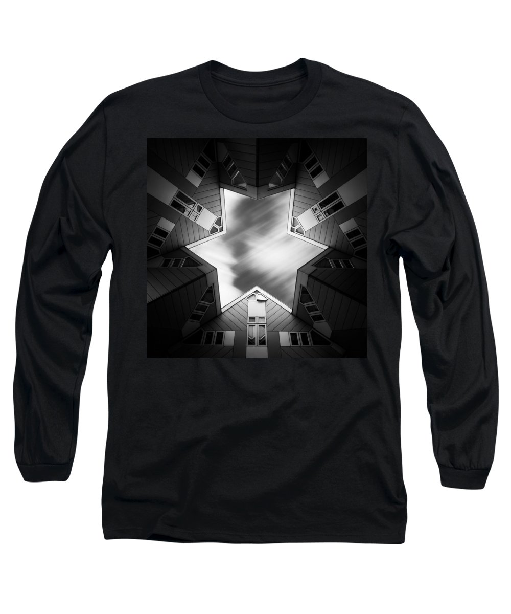Cube House Long Sleeve T-Shirts