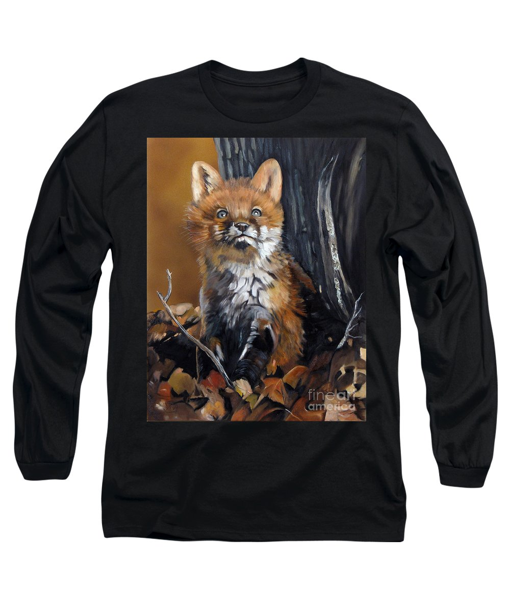 Southwest Art Long Sleeve T-Shirt featuring the painting Dreamer by J W Baker