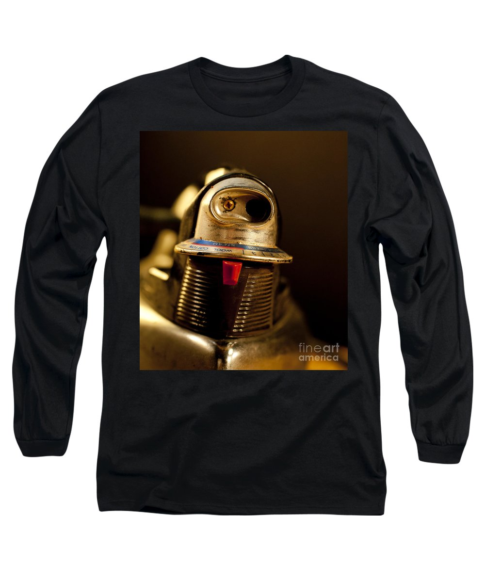 Iron Long Sleeve T-Shirt featuring the photograph Eye To Eye by Wilma Birdwell