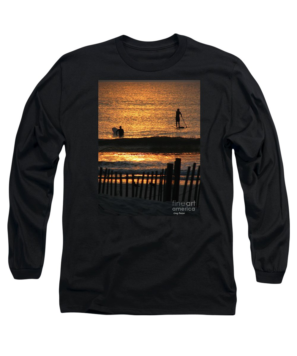 Art For The Wall...patzer Photography Long Sleeve T-Shirt featuring the photograph Here Comes The Sun by Greg Patzer