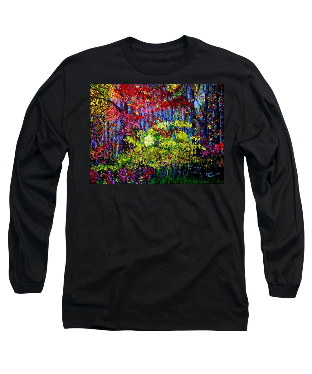 Impressionism Long Sleeve T-Shirt featuring the painting Impressionism 1 by Stan Hamilton