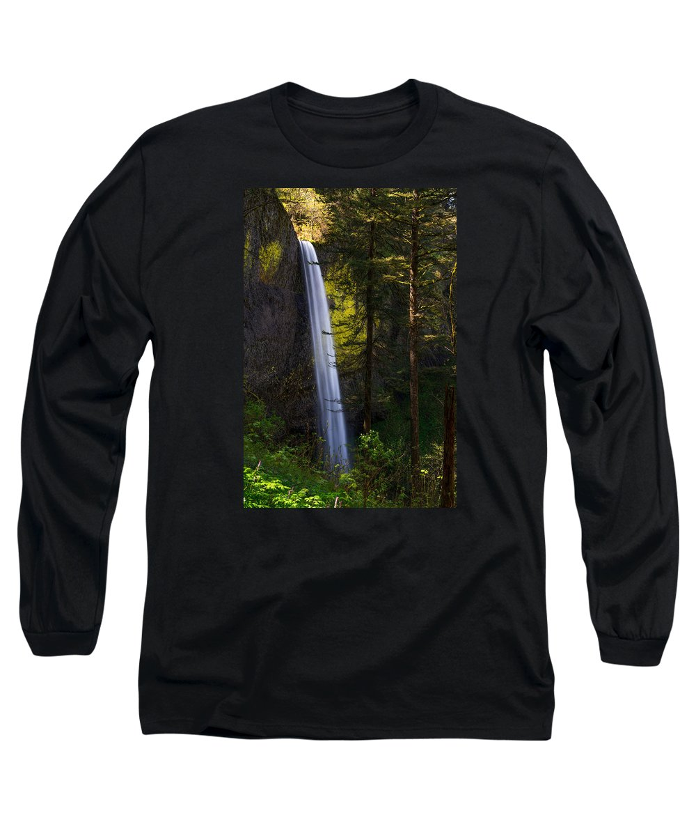 Oregon Long Sleeve T-Shirt featuring the photograph Latourell by Dustin LeFevre