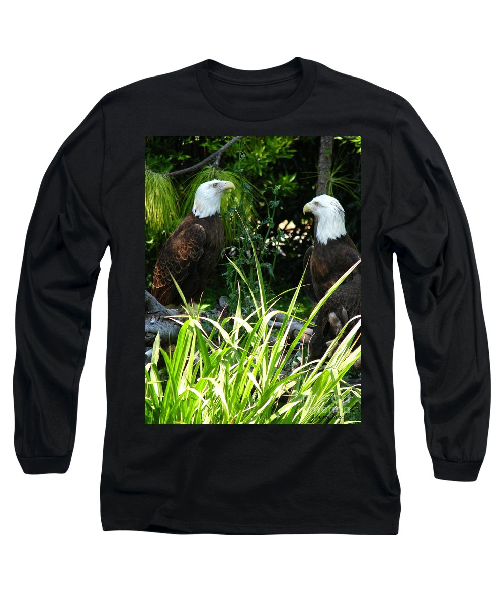Patzer Long Sleeve T-Shirt featuring the photograph Mates by Greg Patzer