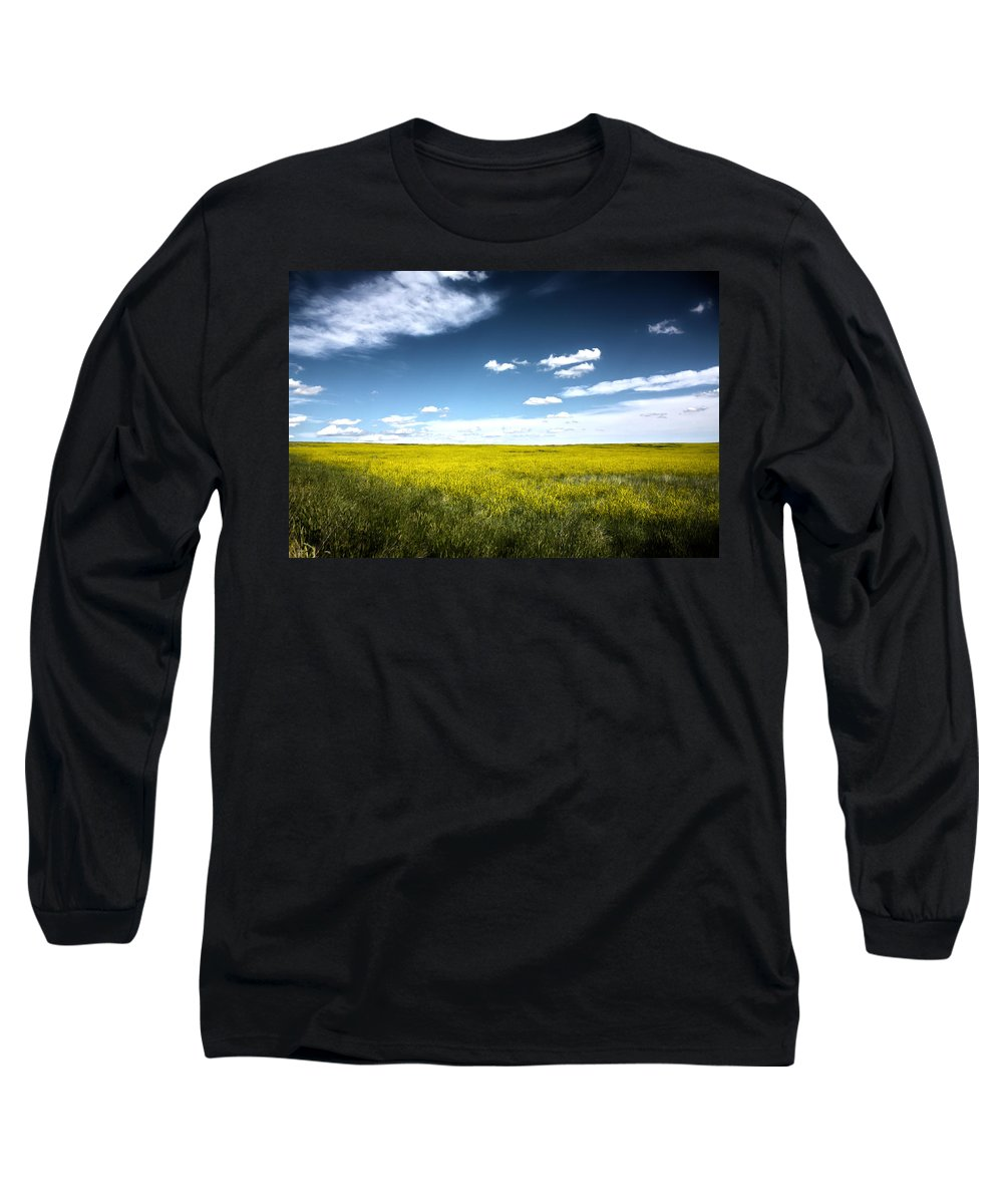Pawnee National Grasslands Long Sleeve T-Shirt featuring the photograph Pawnee Grasslands by Shane Bechler