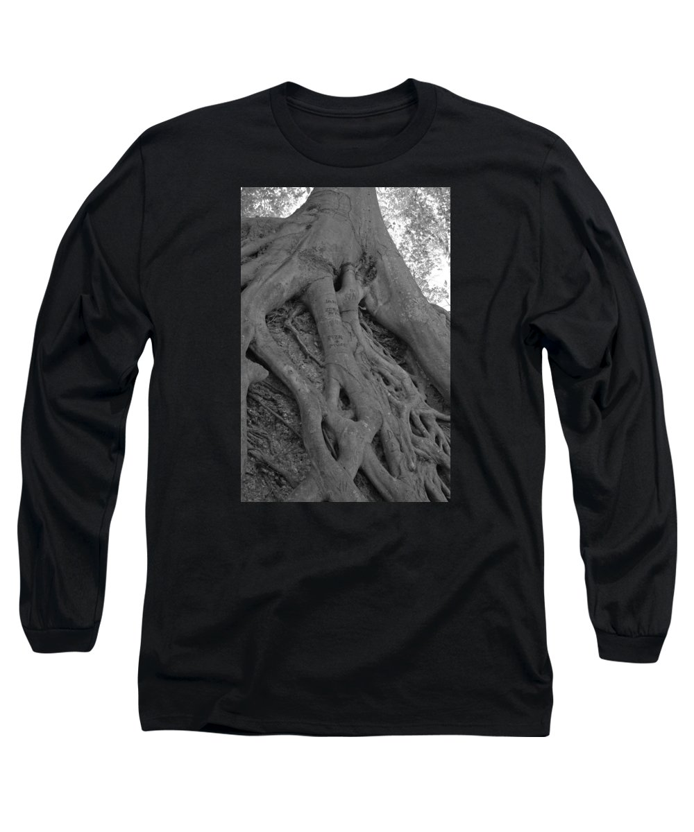 Tree Long Sleeve T-Shirt featuring the photograph Roots II by Suzanne Gaff