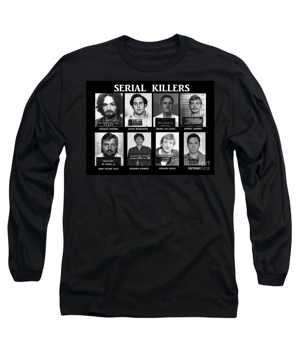 Ted Bundy Long Sleeve T-Shirts