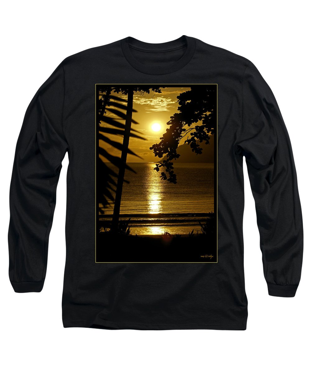 Landscapes Long Sleeve T-Shirt featuring the photograph Shimmer by Holly Kempe
