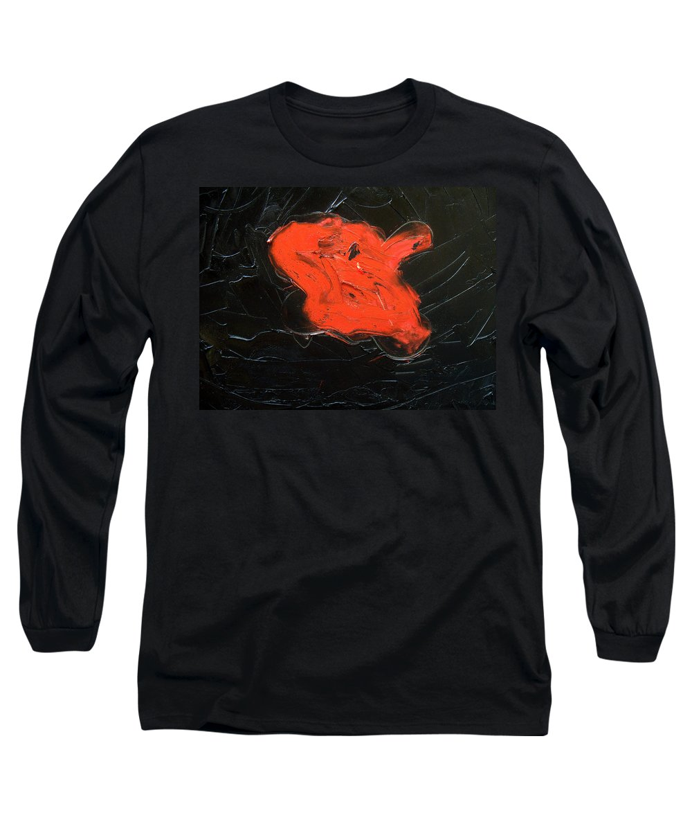 Surreal Long Sleeve T-Shirt featuring the painting The Last Hope by Sergey Bezhinets