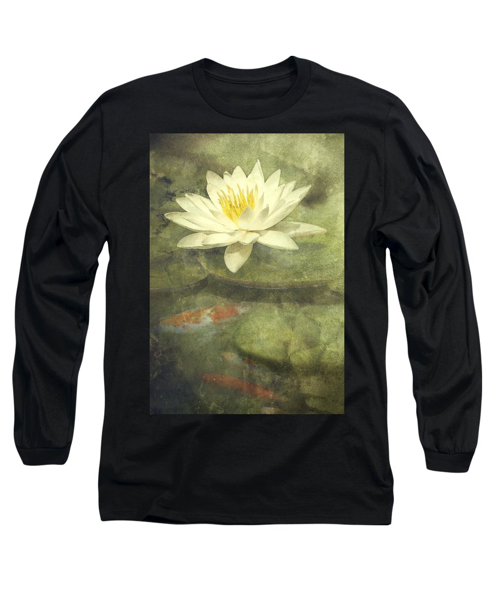 Water Lily Long Sleeve T-Shirt featuring the photograph Water Lily by Scott Norris