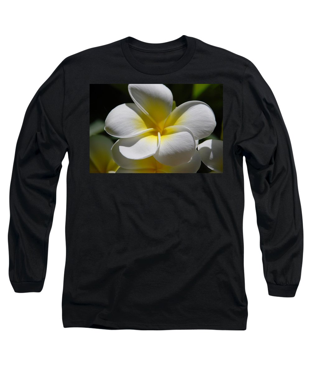 Nature Long Sleeve T-Shirt featuring the photograph White Bloom by Rob Hans