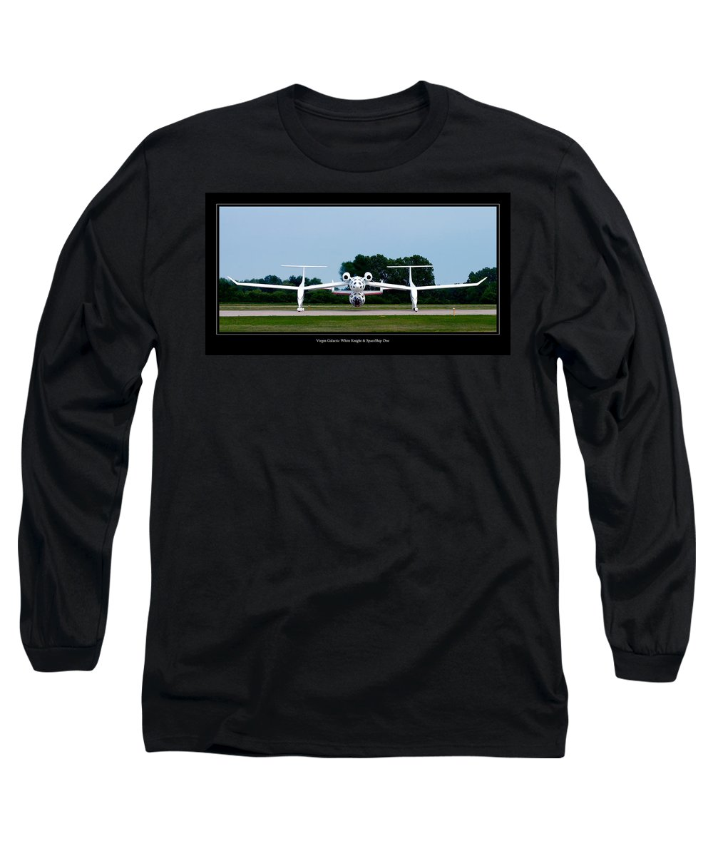3scape Long Sleeve T-Shirt featuring the photograph White Knight by Adam Romanowicz