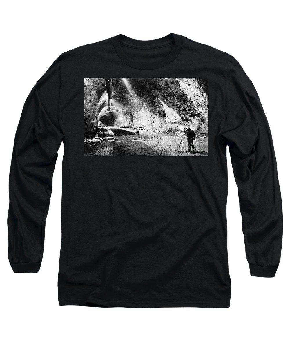 1963 Long Sleeve T-Shirt featuring the photograph Cheyenne Mountain, 1963 by Granger