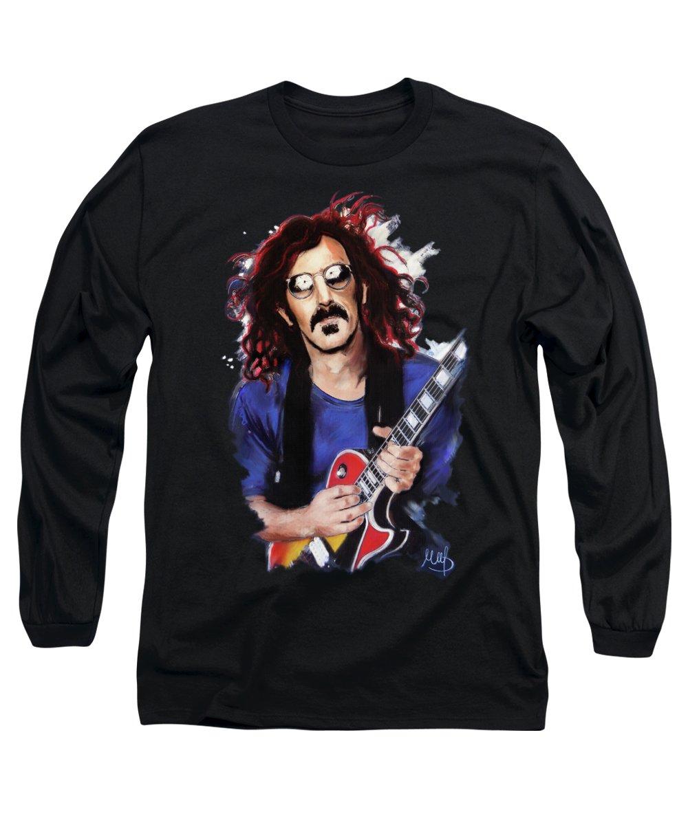 Frank Zappa Long Sleeve T-Shirts
