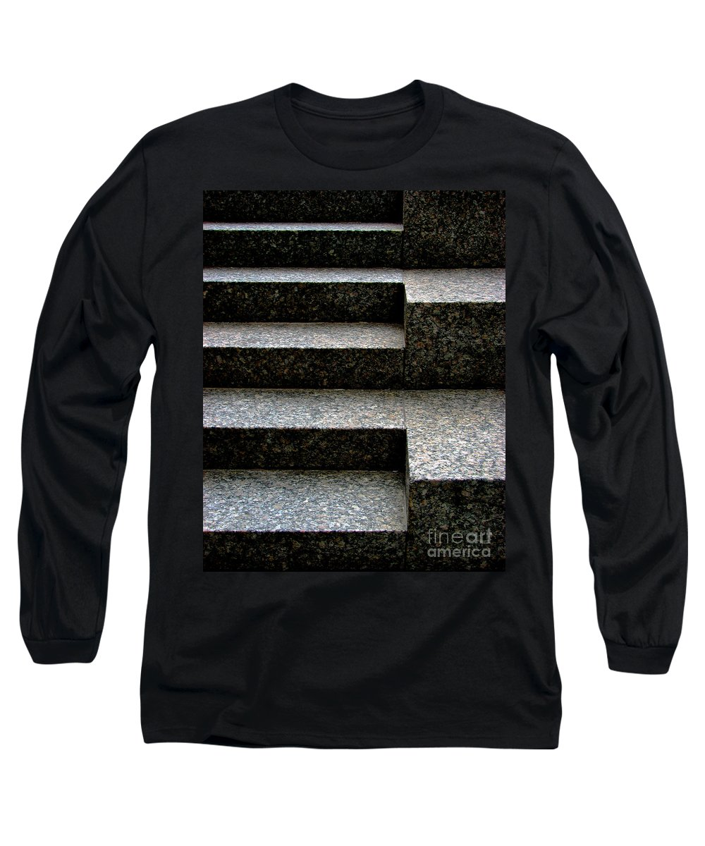Architectural Long Sleeve T-Shirt featuring the photograph Gradation by Dana DiPasquale