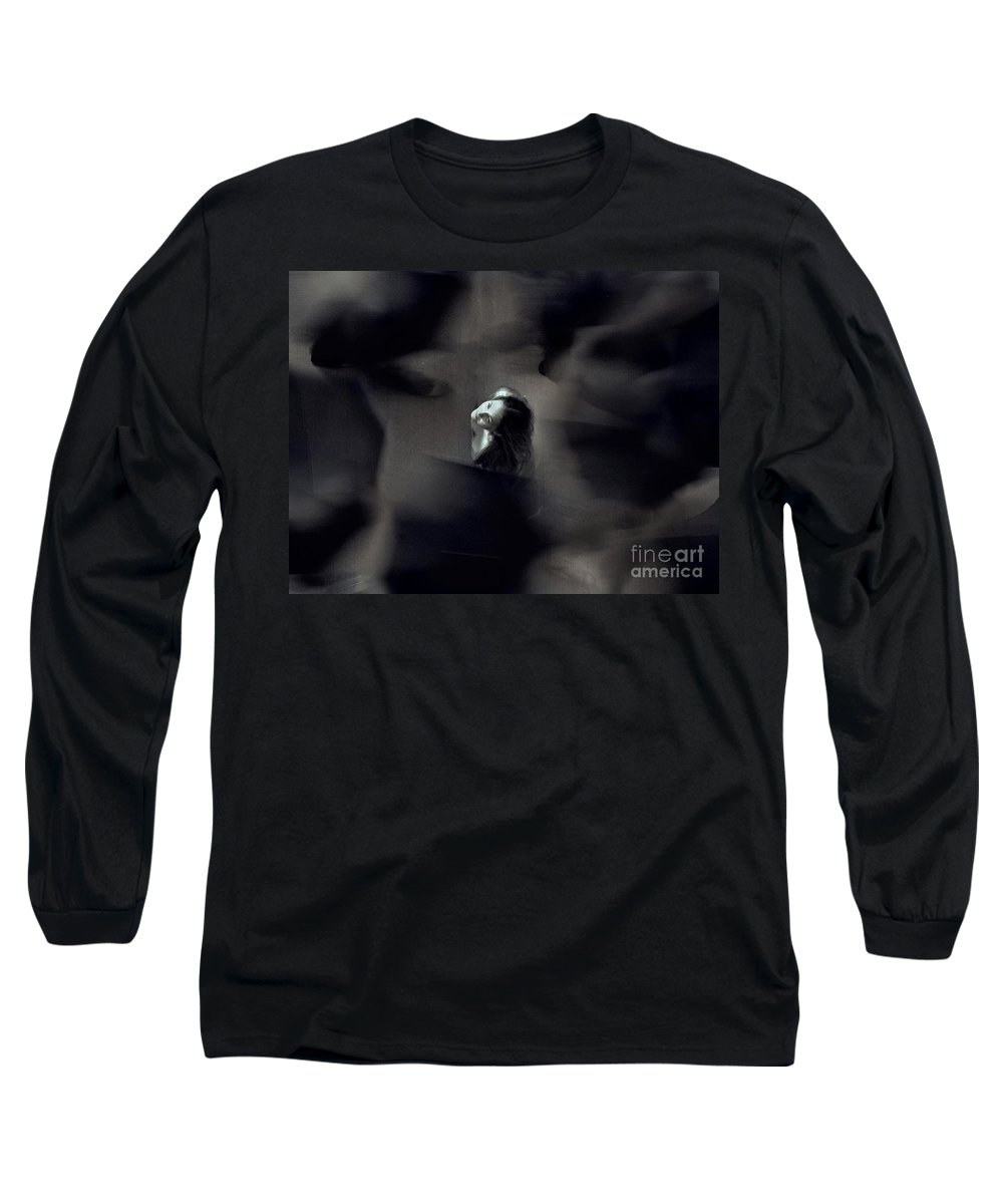 Street Long Sleeve T-Shirt featuring the photograph Just For Today I Will Not Be Afraid by Dana DiPasquale