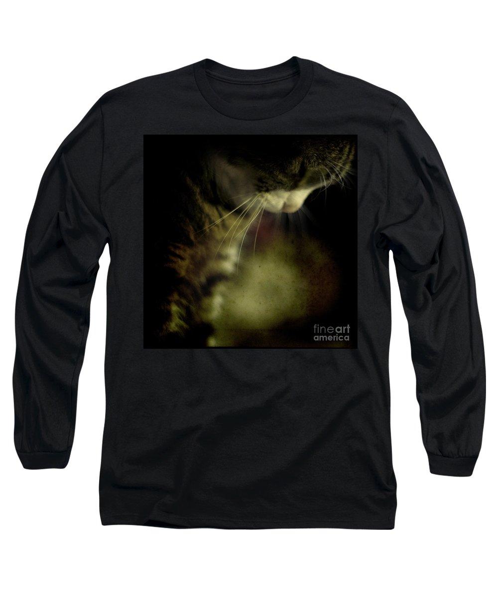 Sleep Long Sleeve T-Shirt featuring the photograph Just Sleep by Angel Tarantella