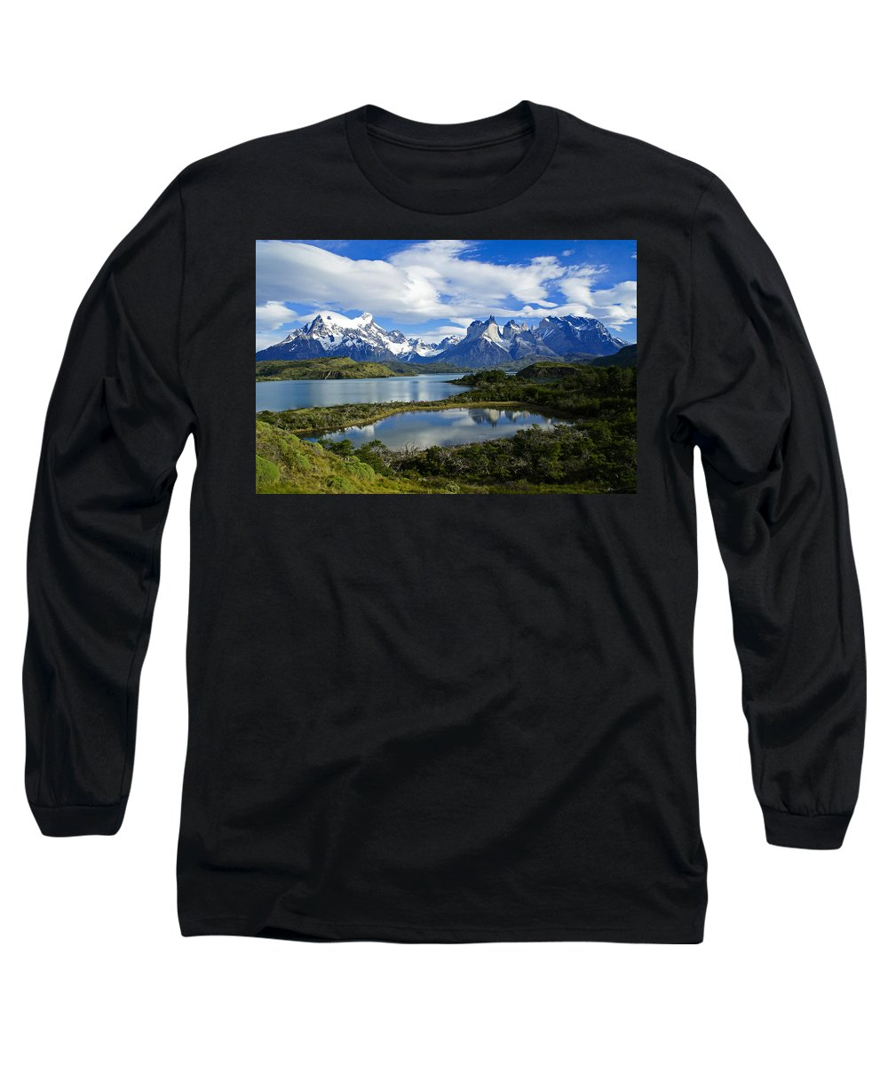 Patagonia Long Sleeve T-Shirt featuring the photograph Springtime In Patagonia by Michele Burgess