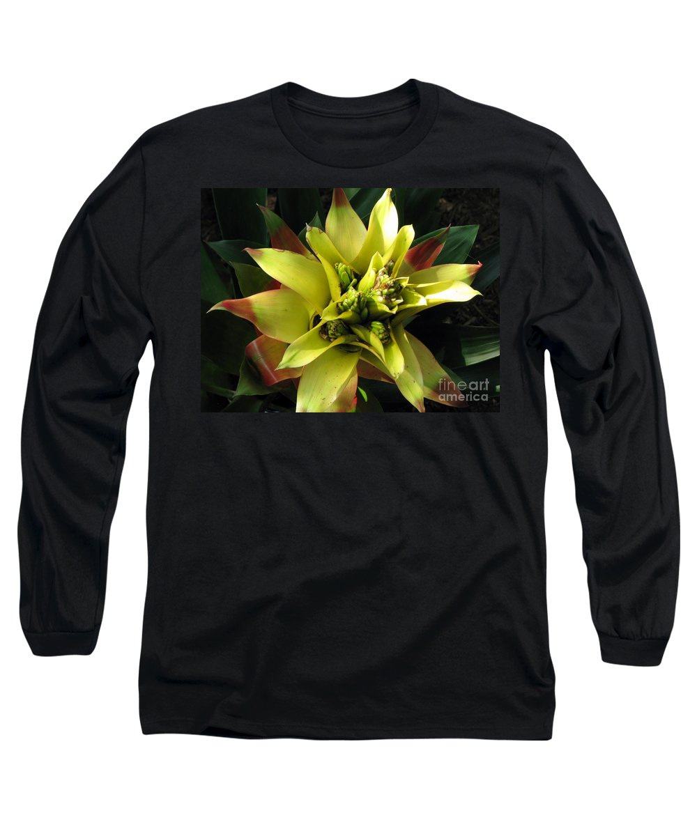 Tropical Long Sleeve T-Shirt featuring the photograph Tropical by Amanda Barcon