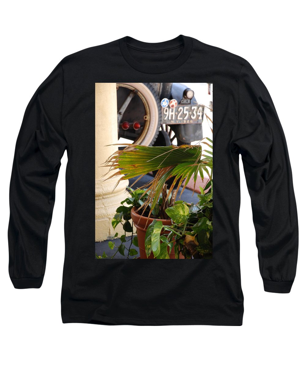 Ford Long Sleeve T-Shirt featuring the photograph 1926 Model T And Plants by Rob Hans