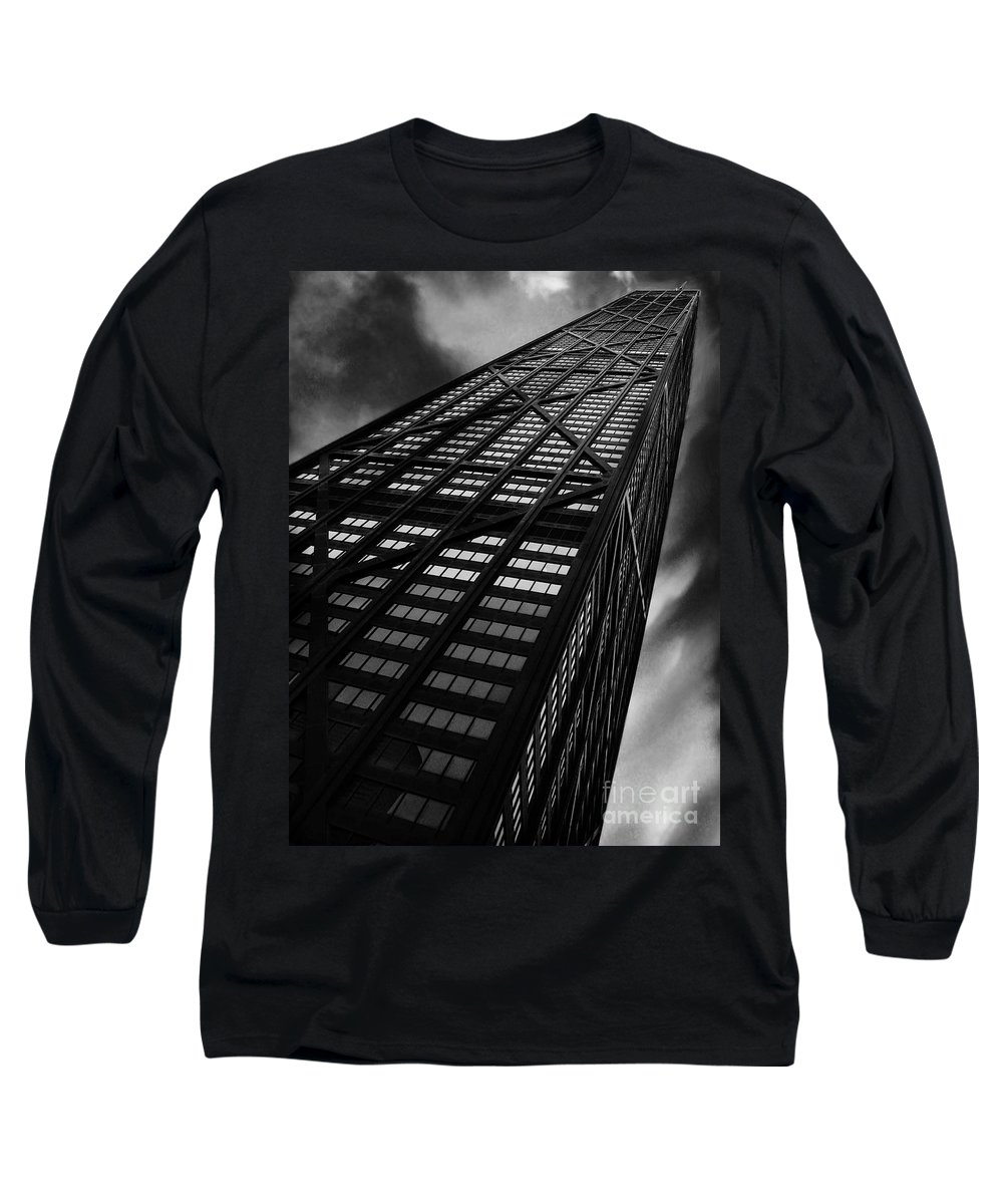 City Long Sleeve T-Shirt featuring the photograph Limitless by Dana DiPasquale