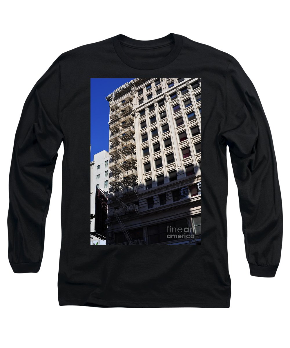 Clay Long Sleeve T-Shirt featuring the photograph Street Photography by Clayton Bruster
